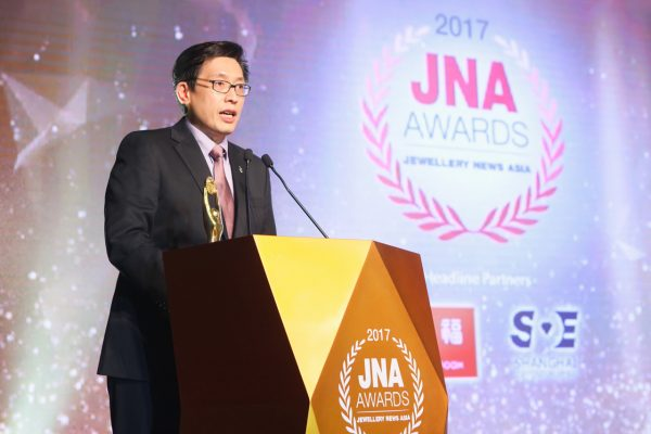 "Soo Kee Group's SK Jewellery Clinches ""Retailer of the Year"" at the Jewellery News Asia (""JNA"") Awards 2017"
