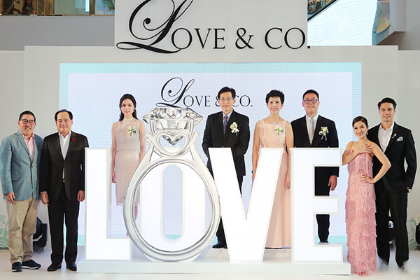 SK Jewellery Group continues regional expansion with opening of Love & Co.'s first flagship store in Bangkok, Thailand