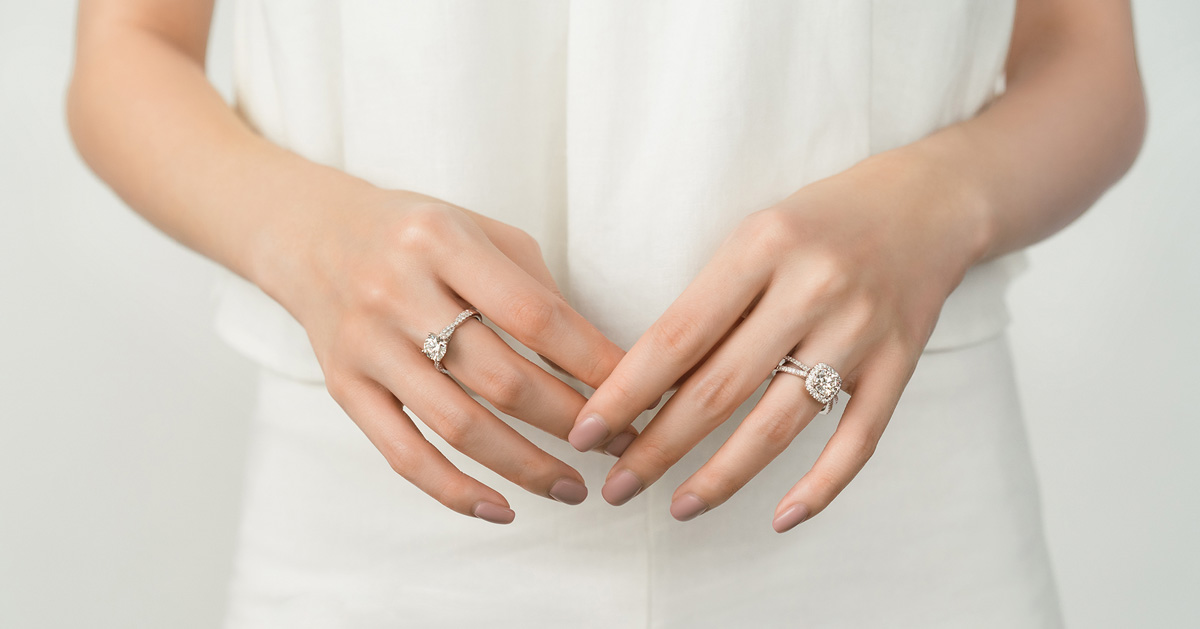 Star Carat Diamond Rings